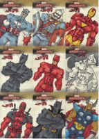 Marvel Masterpieces 2 Misc 2 by jasinmartin