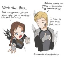Catching Fire Doodle by SamhainStar