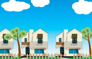 houses vector by 16F