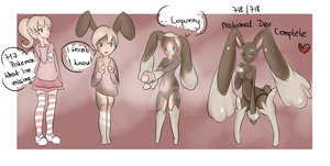 Lopunny TF by Luxianne