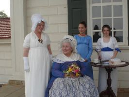 Martha Washington and Family by Archanubis