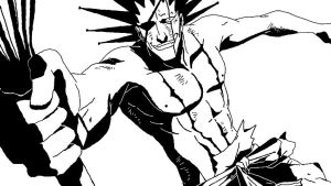Zaraki Kenpachi 2 [Bleach] by ClownDeity