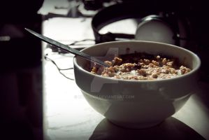 Cereal Bowl by Mtoneko