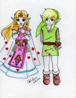 When there are no words...(A Link Between Worlds) by Kisarasmoon