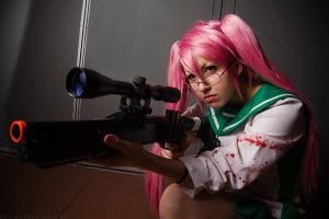 MetroCon 2013 -  Saya First Strike by stillreflection