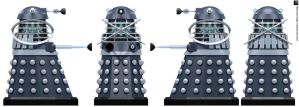 Empire Dalek Time Controller by Librarian-bot