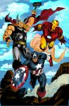 the avengers 2 by richrow