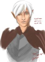 Fenris' humble request by madcoffee