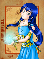 Wendy Marvell the Sky Maiden by Ishthak