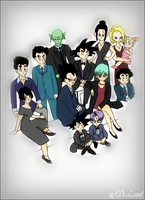 DBZ Formal Occasion by Dickie2008