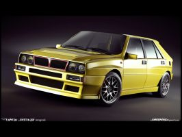 Lancia delta by domino3d