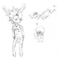 Little Johnny Christ Foo-Foo by Teal-and-Coral