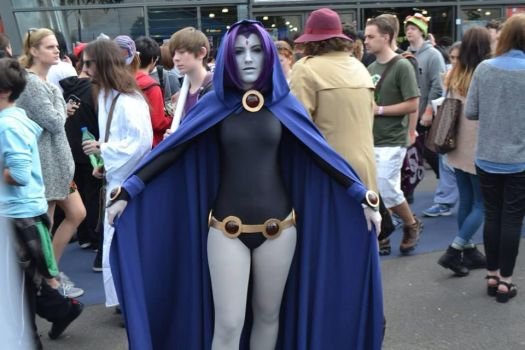 Raven - Teen Titans by Lilium-Cosplay
