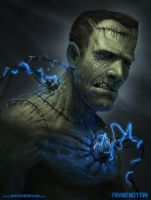 FRANKENSTEIN by NickDeSpain