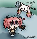 Kyubey is a Dick by Wonchop