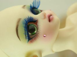 Bambicrony custom Elf lotti rainbow face-up 5 by PinkHazard