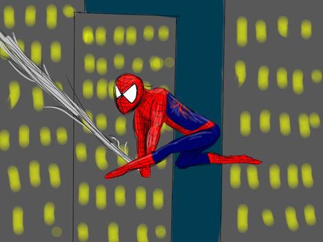 Spiderman by Covelloraptor