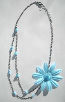 Summer Flower Necklace by Libbyscreations
