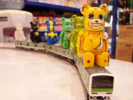 Bearbrick Express by IncessantTears