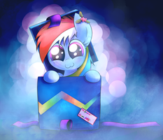 Its a Dashie... by HeavyMetalBronyYeah