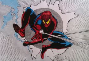 Spider-man by DustyPaintbrush