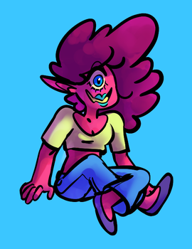 Poofy Cyclops by 2plus3
