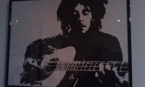 Bob Marley playing Guitar by MattTafari
