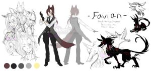 OC: Favian by Toffee-Tama