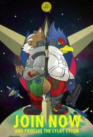 Star Fox by cheshirecatart