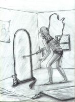 anorexia by foice
