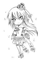 BW detailed adoptable_Lady Rose_ AUCTION by JBeanSV