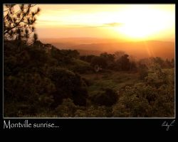 Montville Sunrise by 2Stupid2Duck