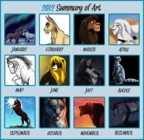 2012 Summary of Art by KanuTGL