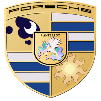 Porsche, but with Ponies! (FIXED AT LAST!) by TheSarcasticBrony