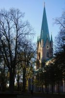 The cathedral of Linkoping by rlyawesome