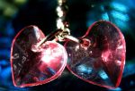 hearts on a chain by amorgano