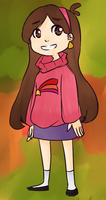 Mabel Pines by cherrychip