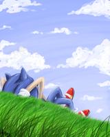 watching the clouds by Merokosart
