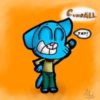 Gumball by ChibiCatsArtits
