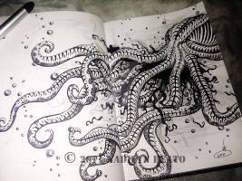 Octopus by NadilynBeato