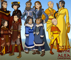 Avatar the last airbender girl dress up games hot girls wallpaper