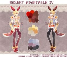 [CLOSED] Rosary Adoptable IV by Serendipiter
