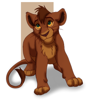 Contest Entry ~ Cub for Kovu and Kiara by H-0ney