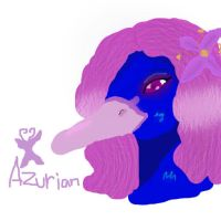 Azurian touchpad by Maivory