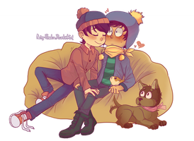 Commission: Stan x Craig by Neny-Paradise