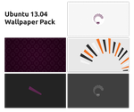 Ubuntu 13.04 minimal Wallpaper Pack by albaux