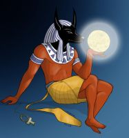 The Gods - Anubis by MadFretsy