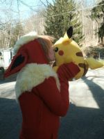 Flareon IN Love by Cchii