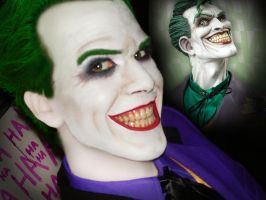 Joker Make-Up Sta-test by AlexWorks