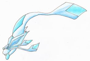 Glaceon Fish Style by evilmind2